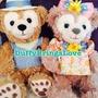 《絕版》2013日本迪士尼 春季 春季巡航/春巡 SS號 達菲Duffy 雪莉玫Shelliemay 玩偶 娃娃 SS號