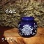 景泰藍-藍罐電子香爐 香薰爐沉香爐 新款香薰器電子檀香爐調溫 景泰藍香罐