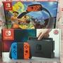 任天堂 Nintendo switch NS 紅藍主機 台規機 + 健身環大冒險