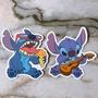 💜單張‼史迪奇 💜迪士尼 防水貼紙 貼紙 行李箱 安全帽 筆電 機車 吉他 滑板