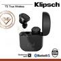 【公司貨-現貨供應】Klipsch T5 True Wireless真無線藍牙耳機(黑色)