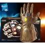孩之寶復仇者聯盟4滅霸無限手套聲光可動收藏玩具擺件禮物3C現貨