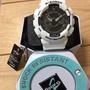 全新白色G-shock手錶(附鐵盒)