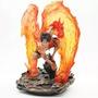 GK殿堂  海賊王系列 - 火焰艾斯  雕像公仔