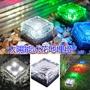 【太陽能冰花磚地埋燈】玻璃地埋燈 LED地磚燈 戶外太陽能裝飾燈 批發