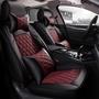 Toyota豐田Altis RAV4 Yaris Vios Sienta Camry新款椅套全皮菱形四季通用汽車坐墊