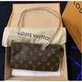 LV LOUIS VUITTON 小型配飾手拿包 單肩包M40712
