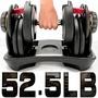 快速調整52.5磅智慧啞鈴(15種可調式)52.5LB槓鈴.舉重量訓練機.運動健身器材.推薦哪裡買C176-552