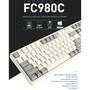LeoPold FC980C 45g 日本Toprer靜電容軸 黑色版/白灰雙色(熱昇華印字)機械鍵盤 數量有限!