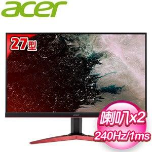 ACER 宏碁 KG271 B 27型 1ms 240Hz無邊框電競螢幕