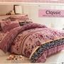 天韵香舍 紫藕色 流行款 標準/加大薄床包 超便宜 熱銷款 防蟎抗菌 兩用被