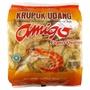 【豐食堂】印尼 AMIGO Krupuk Udang Extra Chili 辣味生蝦餅 500g