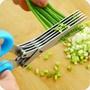 切菜神器多功能切菜神器蔥絲剪刀廚房用品用具做飯小百貨切蔥花機切絲器 夢藝家