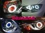 JK極光HID LED 光導 導光 淚眼燈 日行燈 流水 大燈YARIS ALTIS  VIOS IS250  FX35