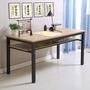 書法桌電腦桌簡易書桌書畫桌辦公桌培訓桌課桌寫字臺簡約定制  ATF 青木鋪子