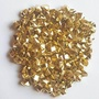 ElE&GANT 1LBPlastic Metallic Gold Nuggets For Table Scatter Decoration or Vase Filler - intl