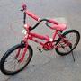 兒童腳踏車 紅色 18吋