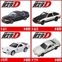 INITIAL 頭文字D 141 GT-R 145 AE86 168 FC3S RX-7 170 S13 TOMICA