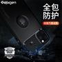 ✲現貨手機殼韓國Spigen蘋果11手機殼iPhone pro硅膠iphone pro max手機殼碳纖維新款透明超薄i