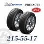 米其林 PRIMACY 4 215/55/17 二入組 安靜舒適輪胎