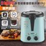 【聲寶 SAMPO】3公升健康油切上蓋透明式氣炸鍋 / 油炸鍋 / KZ-L19304BL /