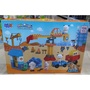 (第三方積木)星動力L6340 正版喜羊羊與灰太郎 建築工程 幼兒 兒童大顆粒積木