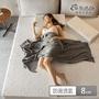 【1/3 A LIFE】抗菌舒柔-88雙層透氣記憶床墊(雙大6尺)