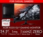 Acer KG251Q F 24.5-Inch Full HD Gaming Monitor