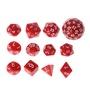 12件/套多面多面體骰子D4 D6 D20 D24 D30 D60 Dungeons