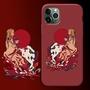 鬼滅之刃手機殼◇◕鬼滅之刃炎柱蘋果11pro/xsmax手機殼78pxr/iPhoneX全包創意美術生