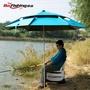 釣魚傘大釣傘加厚萬向雙層釣魚雨傘防風防曬防雨遮陽台釣釣傘漁具ATF 格蘭小舖