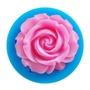 現貨新款供應3D立體液體矽膠玫瑰花翻糖蛋糕模 1朵玫瑰花 手工皂矽膠模具