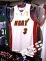球迷版R30熱火韋迪2012總冠軍紀念球衣 NBA Heat Wade Champions Jersey M L