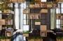 美式隔斷loft工業風屏風辦公室書架餐廳玄關格子架鐵藝隔斷置物架