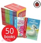 Read it Yourself with Ladybird Collection 50 Books Box Set Pack (Level 1, 2, 3, 4)including moshi monster, peppa pig, charlie and lola, Wizards of Oz, ... Heidi, Snow white and the seven dwarfs