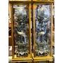 2尺7 松鶴燈 安金 雙色 錫燈 神明燈 含框