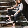 韓國帶回專櫃正品FILA品牌經典款配色涼鞋!新款。也有黑色