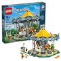🦁現貨發售🦁  正品LEGO樂高 創意街景系列10257旋轉木馬 拼裝益智積木玩具 現貨