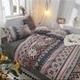 「chili」民族風 波希米亞風 圖騰 床包 床單 雙人床包 雙人加大 純棉 床單 四件套 被套 雙人床