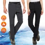 【NEW POWER】頂級禦寒刷絨保暖男女工作長褲/衝鋒褲