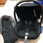 二手 荷蘭Maxicosi CabrioFix提籃汽車安全座椅 附新生兒座墊 quinny提籃轉接器