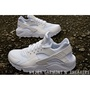 【HYDRA】Nike Air Huarache 全白 白武士 男鞋 網布 US6~14  318429-111