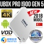 2019 Model UNBLOCK Tech TV BOX Ubox Gen5 UPro Andriod 7.0 ★ Lifetime Free! No Subscription! ★