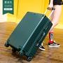 20吋直角拉桿前後金屬包角拉絲防刮復古拉鍊款行李箱/登機箱