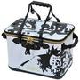 【三才釣具】KIZAKURA 黑魂 誘餌袋(誘餌桶) 白色 40公分.45公分