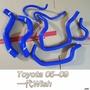 一代 05-09年 WISH 矽膠水管 強化水管 七件組 含束環
