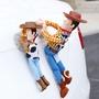 巴斯光年救援胡迪汽車頂裝飾玩偶車尾搞笑公仔英雄聯盟汽車外裝飾