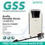 [GSS Promo: FREE Vacuum Cleaner worth $128] Avolta Portable Aircon PC30AMEII 10,000BTU