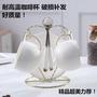 現貨 新品熱賣 簡約創意陶瓷咖啡杯 馬克杯 韓版可愛茶杯✑好質量歐式陶瓷咖啡杯女套裝高檔茶具家用水杯馬克杯咖啡杯子帶勺