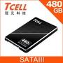 TCELL 冠元- TT550 480GB 2.5吋 SATAIII SSD固態硬碟(英倫紳士風)